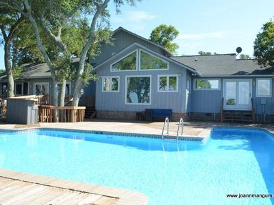 Photo for Featured Home with Swimming Pool and Boat Dock