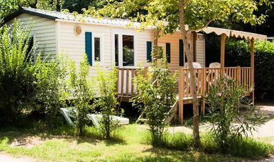 Photo for Camping Le Val de Cesse *** - Air Conditioned Villa 3 rooms 4/6 people