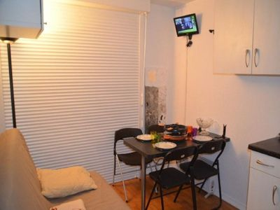 Photo for Apartment Les Menuires, studio flat, 2 persons