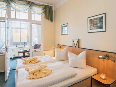 Photo for Double Room Comfort with Sea View - Beach Villa Imperator