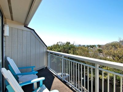Photo for Let this 1 bedroom, 1 bath, 3rd floor oceanfront complex villa be your gateway to the sun, sand, and