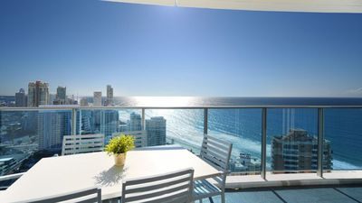 Photo for ❤️40 levels above Hilton. 2 bedrooms, 2 bath UPGRADE