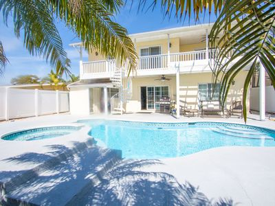 Photo for Beach Paradise Pool Home - NEW to Homeaway - Last Minute Discounts