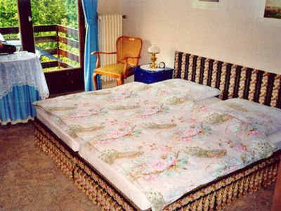 Photo for 1 double room with terrace - Pension Am Erlengrund