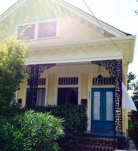 Photo for UPTOWN OLD NEW ORLEANS CHARM - SPACIOUS 3BR, 3BA 1/2 DUPLEX