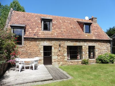 Photo for Breton stone house in Trégastel on the Pink Granite Coast
