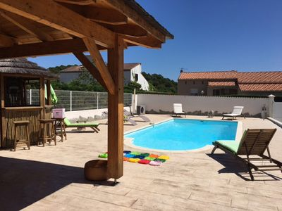 Photo for House with pool near Ajaccio -plage -Montagne quiet - near amenities -