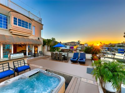 Photo for Stunning Channel Front Home w/ Private Spa + Duffy Boat