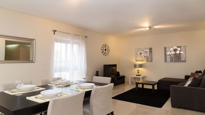 Photo for Luxury modern  apartment close to golf, beach and marina