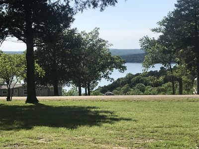 Photo for Sunset View- Private retreat with lake view on 2 acres   , minutes to lake