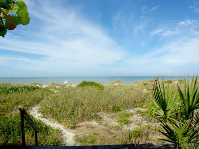 Photo for Gulf Front Private Home. Pets Welcome! 2 Bedroom, 1 Bath-Sleeps 6