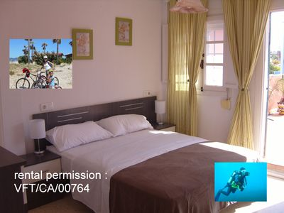 Photo for Nice Double Bed Room  With Rooms Bike and Dive