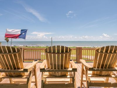 Photo for Feeling TipSea, 2nd Row, Crystal Beach, TX, Vacation Home, Oceanview