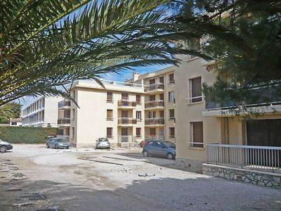 Photo for Apartment 620 m from the center of Saint-Cyr-sur-Mer with Parking, Internet, Washing machine, Terrace (103499)