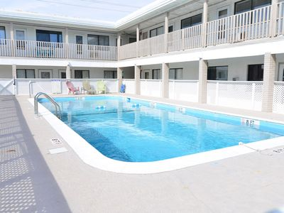 Photo for OCEAN VIEW & BEACH OPEN! CLEAN! All-NEW Suite! WOW! POOL * SMART TV * Wifi!
