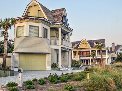 Photo for Inescapable View is a magnificent 7BR/8BA Dune Ridge estate with ocean views!
