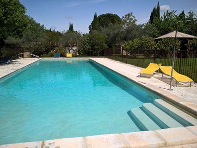 Photo for Mazet Eden in Mirabel-aux-Baronnies ,enclosed pool