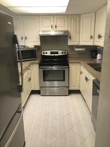 stove, fridge, dishwasher, in kitchen