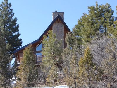 Photo for Family Friendly Mountain Retreat, Close To Zion & Bryce, On Wooded Acre.