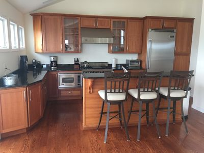 Gourmet kitchen outfitted with every appliance you will need!