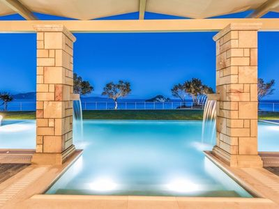 Photo for R701 Art Luxury Villa With Private Pool Sea Views BBQ Area Daily Maid Service