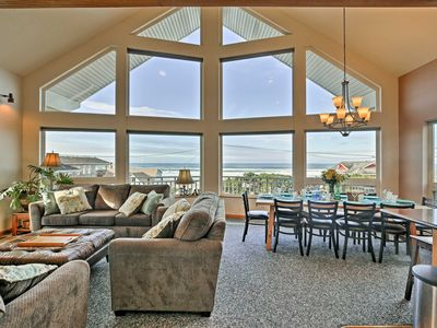 Photo for Lincoln City Home w/ Game Room - Walk to Beach!