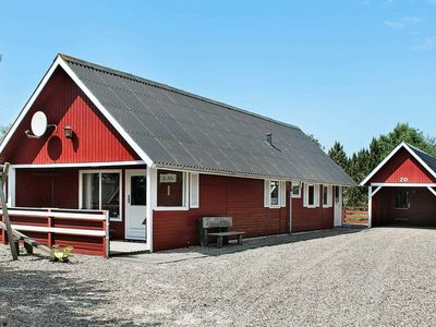Photo for Quaint Holiday Home in Rømø Jutland with Roofed Terrace