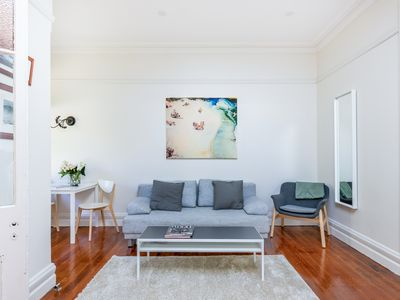 Photo for Large One Bedroom Apartment -  A Peaceful Oasis only 10 mins. from Bondi Beach