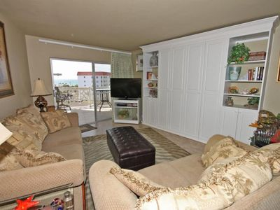 Photo for 1BR / 1BA - Beautiful views of the courtyard and Gulf of Mexico