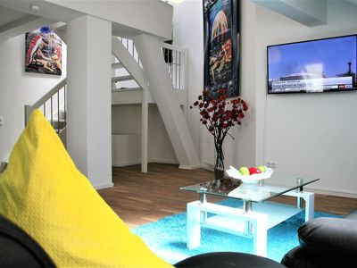 Photo for NEW! 120sqm luxury apartment on 2 floors directly on the pedestrian street
