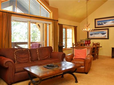 Photo for Los Pinos Townhomes: 3 BR / 3 BA townhome in Breckenridge, Sleeps 9