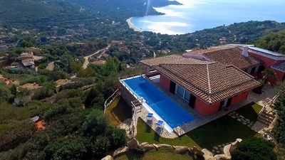 Photo for Villa Corallia - Luxury Villa with stunning view over the bay