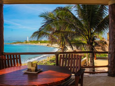 Photo for Luxury Condo ,few feet front the ocean. Spectacular Caribbean views