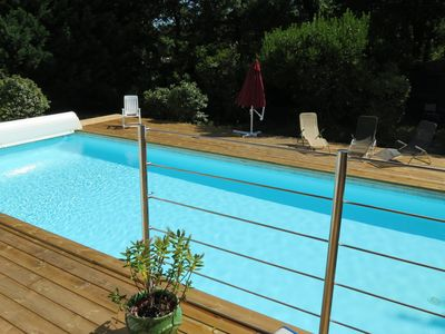 Photo for Villa with large heated pool 6km to Arcachon