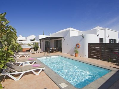 Photo for Casa Pardelera - 3 Bedroom villa - Great pool area with Jacuzzi - Perfect for families