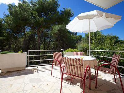 Photo for Studio flat with terrace and sea view Stari Grad, Hvar (AS-15241-b)