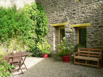 Photo for Character cottage between Dinan and St Malo. Quiet, close to tourist sites