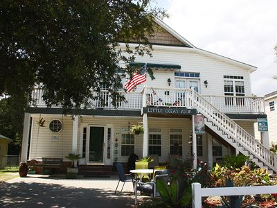 Photo for Little Ocean View Up: 2 BR / 1.5 BA home in Oak Island, Sleeps 4