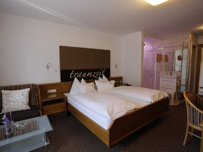 Photo for Double Room, Aberg Deluxe 1 - Edelweiss, Hotel