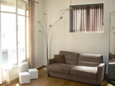 Photo for NEW ! Very comfortable and quiet air-conditioned studio in city center of NICE