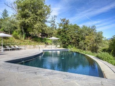 Photo for Scenic Farmhouse in Poppi with Swimming Pool