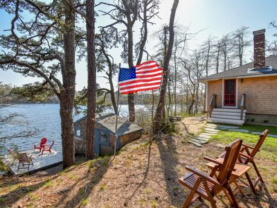 Photo for #515: Private beach just 10 feet from Crystal Lake! Brand new renovation!