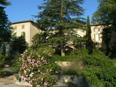 Photo for Garden apartment for 2/4 people between Cevennes and Provence