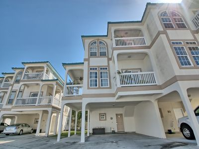 Photo for Gulf View Luxury Townhome*Free Wifi*Pool*AC*Grill*Steps to the Beach*Cable TV