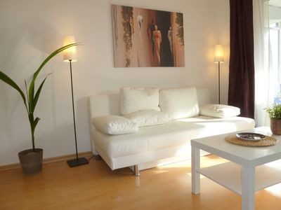 Photo for Stylish bright apartment, very conveniently. Metro just around the corner. Internet