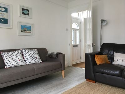 Photo for Family cottage near beaches, garden, dog friendly, WiFi Smart tv, cot high chair