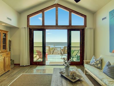 Photo for OCEANFRONT Luxury, 4 BR/4 BA Renovated House on Folly Beach, Free Wifi!