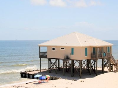 Photo for West Beach - Gulf-front 4 Bedroom Home on the Gulf of Mexico Beach