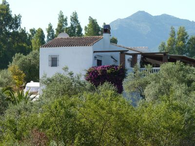 Photo for Wonderful villa with stunning rural views, pool, wifi, air con & table tennis .