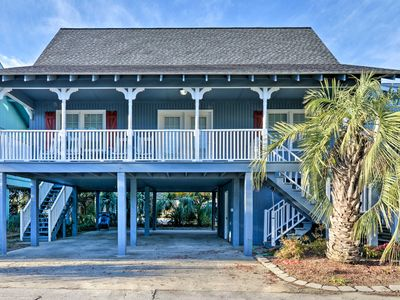 Photo for NEW! Murrells Inlet Home - Walk 1 Block to Beach!